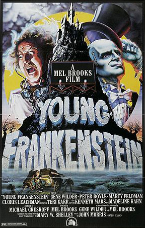 creepy stories, young frankenstein