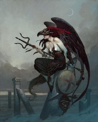 gothic artists, Brom, Redd Wing
