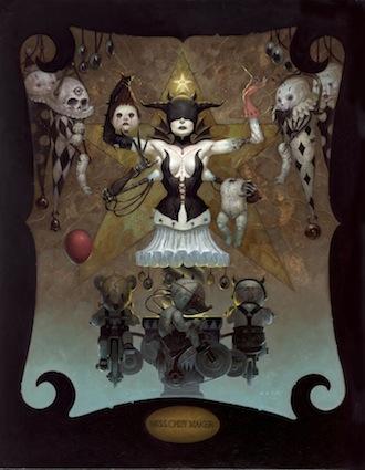 gothic artists, Brom, Blood Ritual
