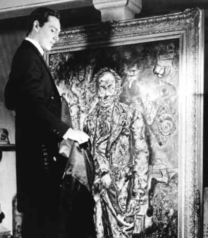 gothic horror, picture of dorian gray