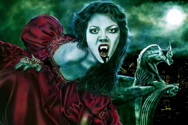 Gothic Fantasy Art - temptation by Avelina de Moray