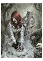 Gothic Fantasy Art - After the Wedding by Patricia Petruzzella