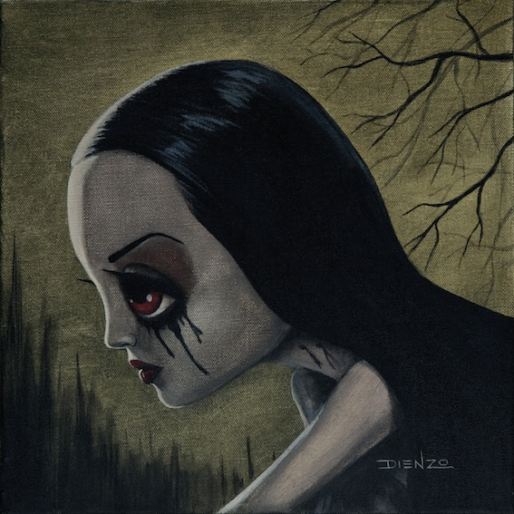 Gothic Fantasy Art - Larissa Prowling by Dienzo