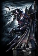 Gothic Fantasy Art - Angels Despair by Henning Ludvigsen
