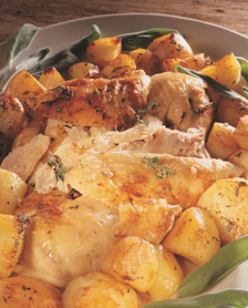 simple recipes for students, roast chicken