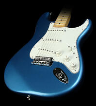 rock and roll history, placid blue fender