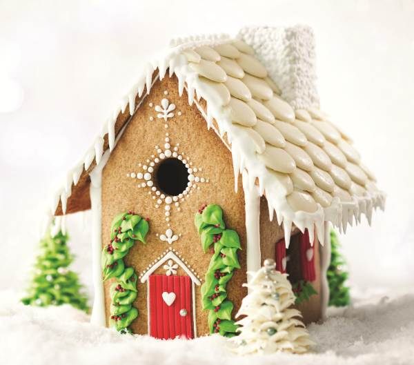 simple recipes, gingerbread house