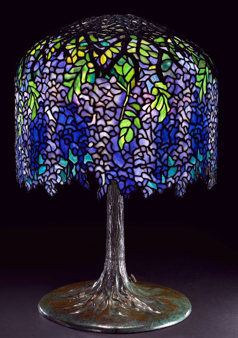 art of fine gifts, wisteria table lamp