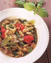 Simple recipes, italian bean soup