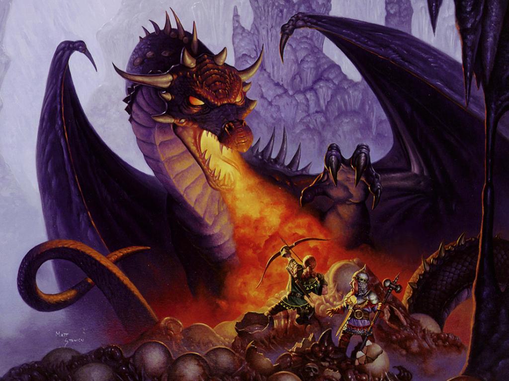 Dragon Art, Digital Art inside pages for iPad
