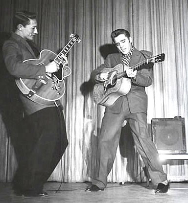 Rock and Roll History, Scotty Moore and Elvis