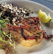 simple recipes, seared tuna
