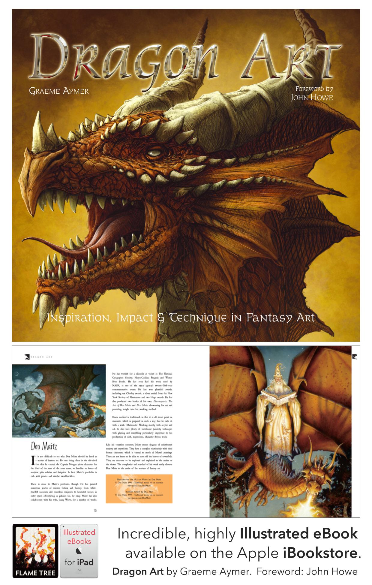 Dragon Art, Digital Art, iPad ready