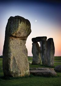 art calendars, stonehenge morning,