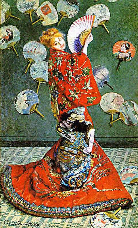 art of fine gifts, monet, la japonaise