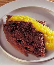 simple recipes, chocolate pancakes