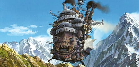 gothic dreams, howl's moving castle