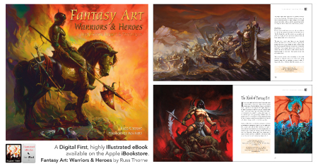 Fantasy Art, ebook cover and spreads