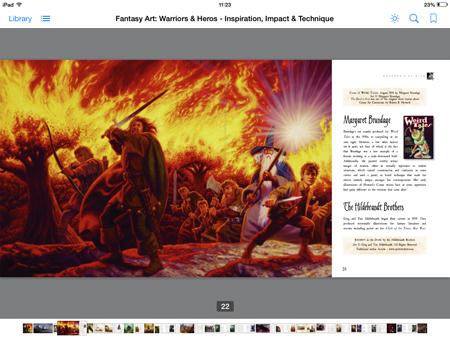 Fantasy Art, ebook example 2