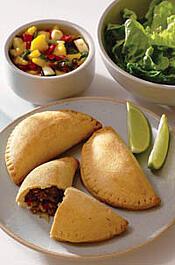 Caribbean empanadas