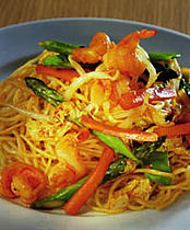 simple recipes, crispy prawn stir-fry