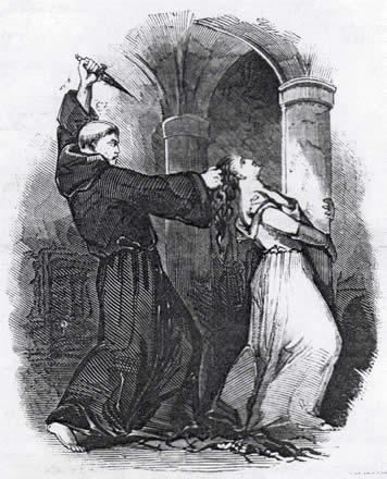 matthew lewis, the monk, gothic fiction, flame tree 451,