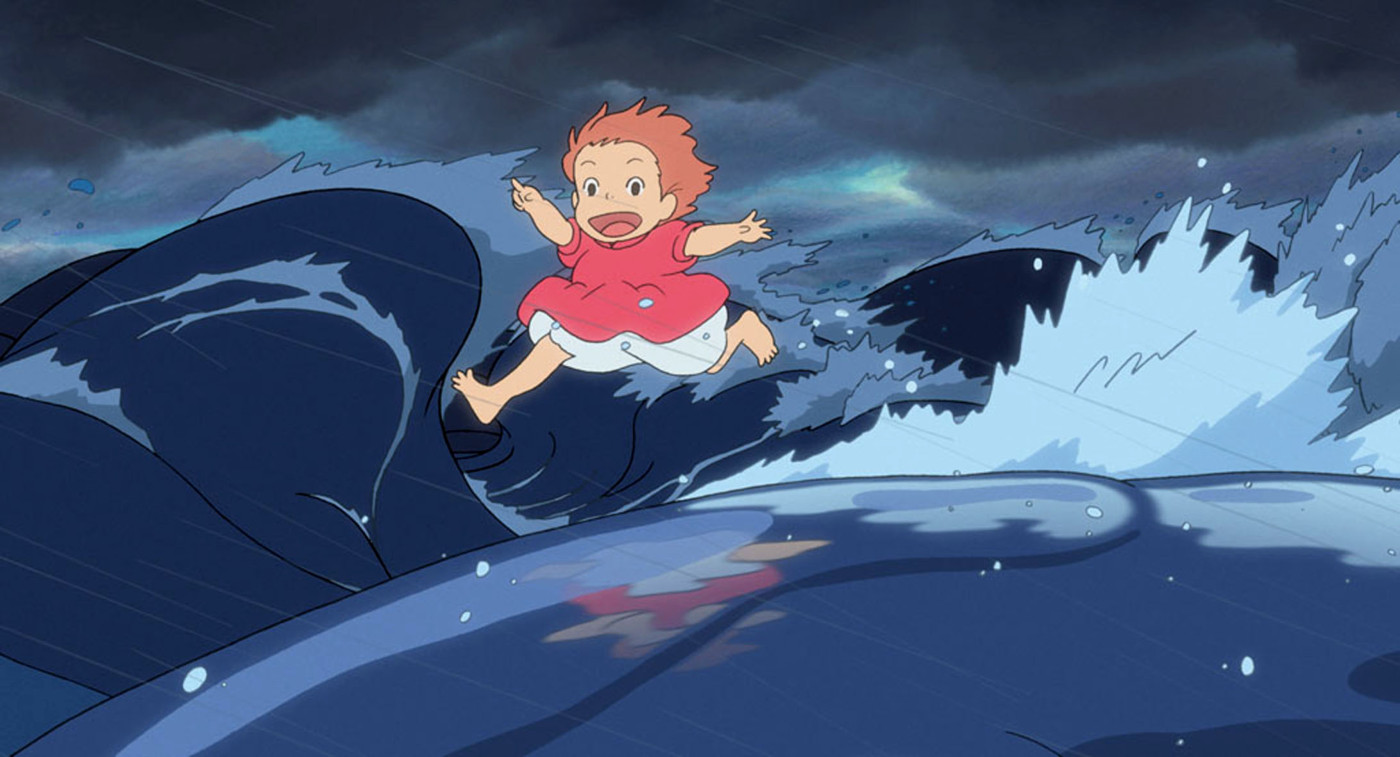 Ponyo The Great Wave