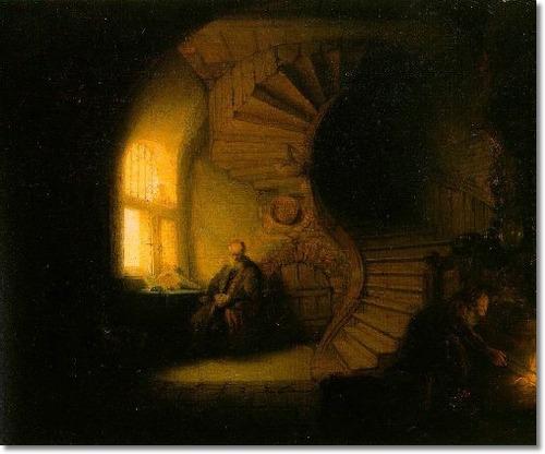 Rembrandt Philosopher in Meditation