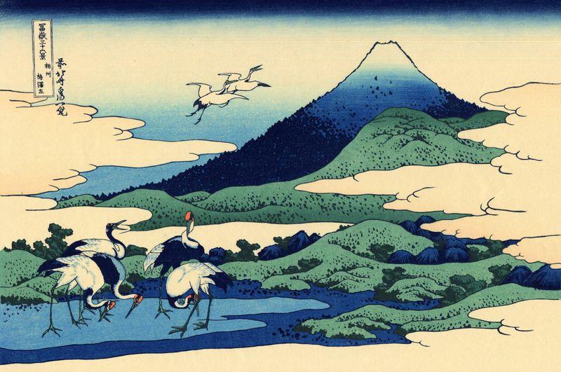 14 Thirty six views of Mount Fuji