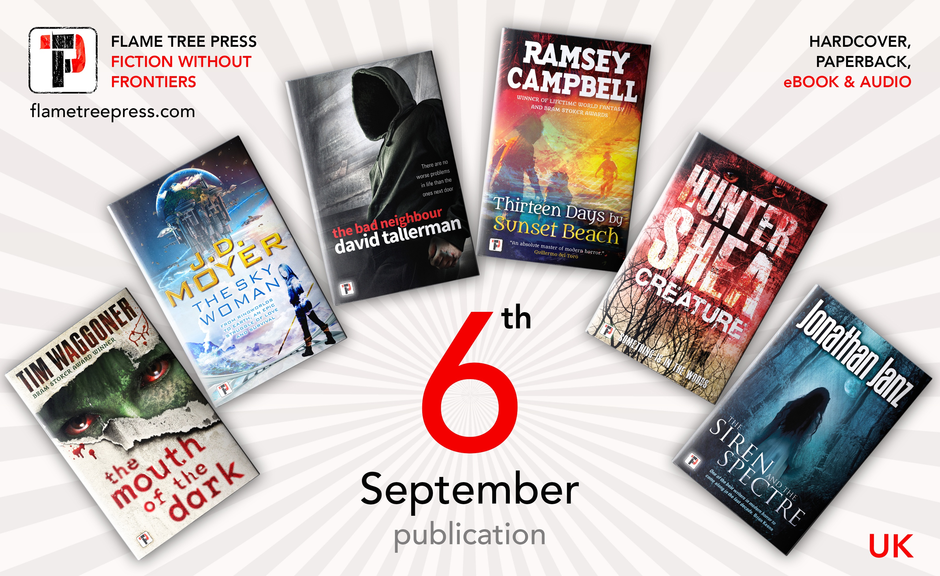 6 for the 6th Flame Tree Launch UK