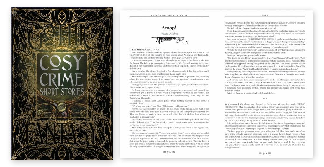Gothic Fantasy - cosy crime w- Spread