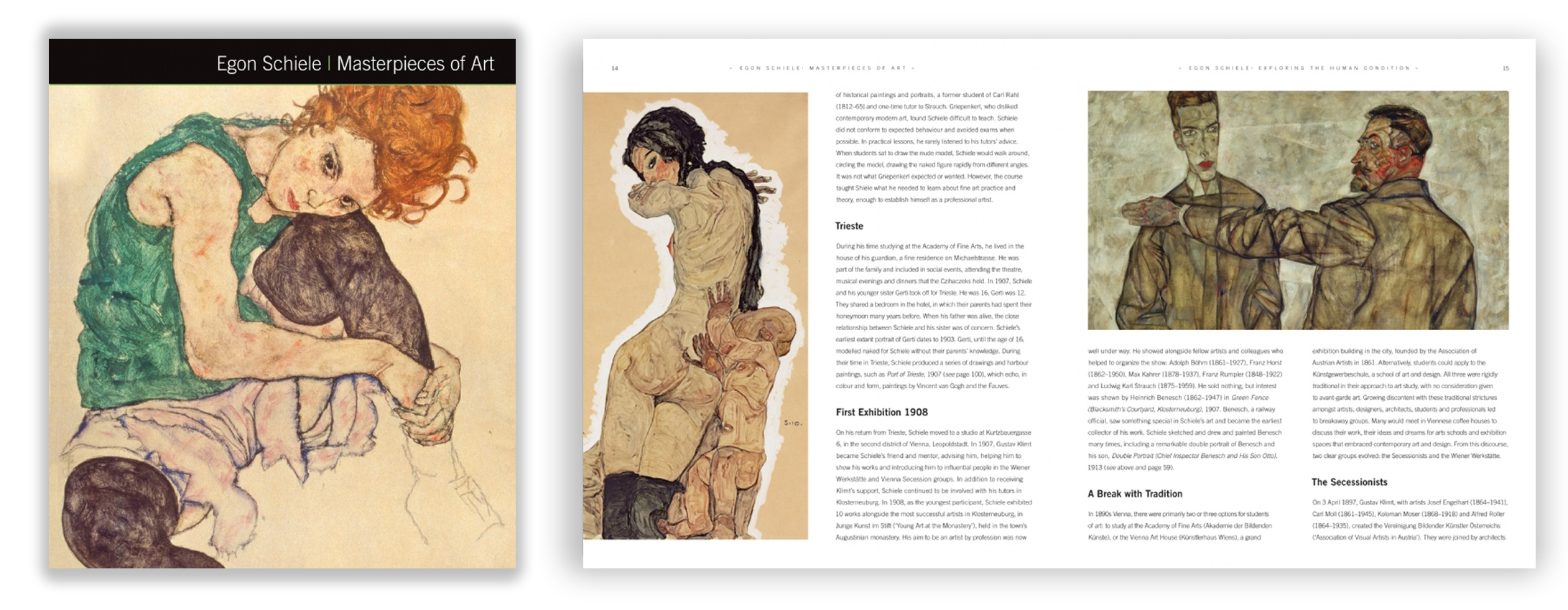 Schiele-masterpieces-art-spread