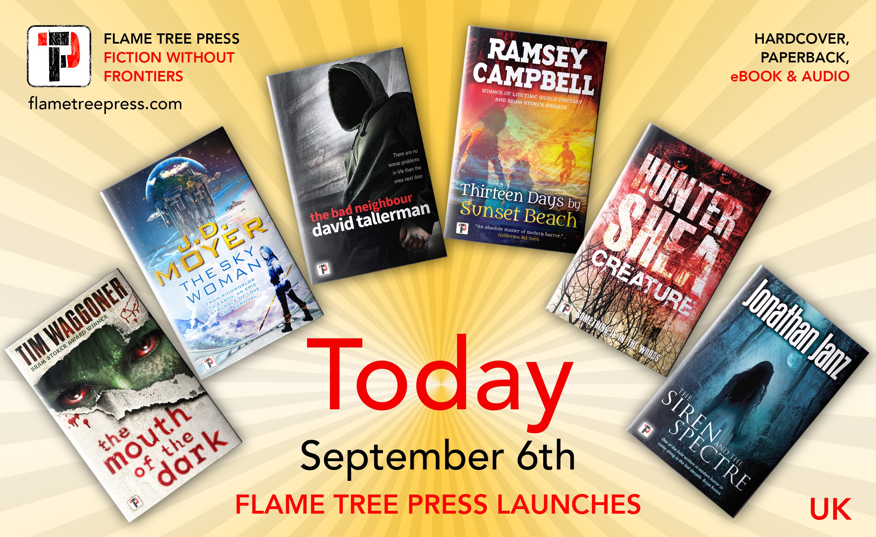 September launch Fan LAUNCH TODAY UK