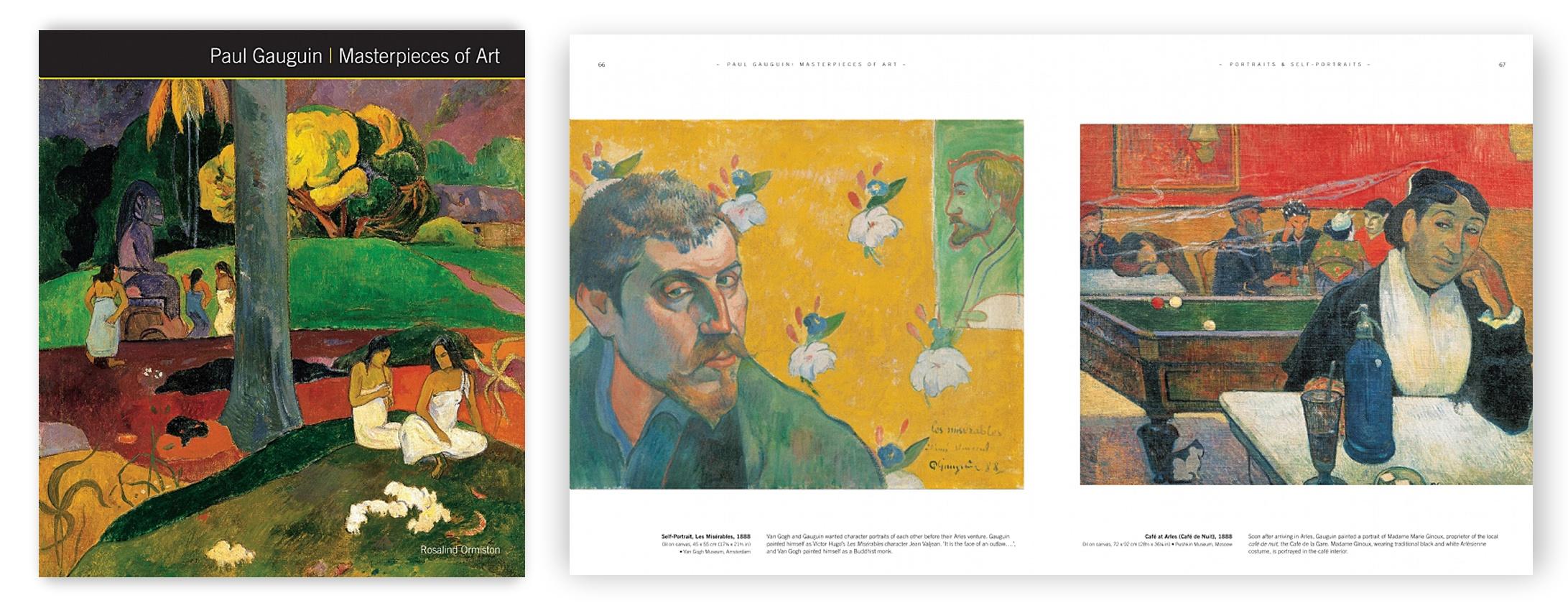 gauguin- Masterpieces of Art w- Spread